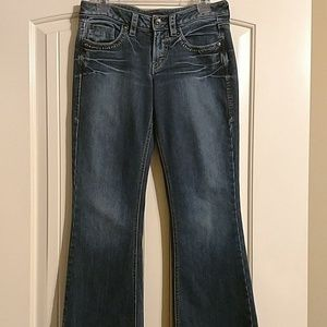 Silver jeans lola style ladies denim jeans